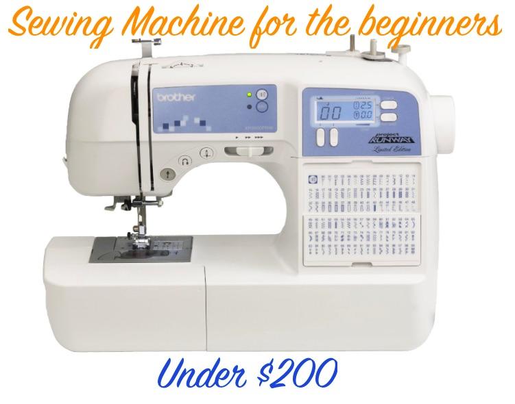 Sewing Machine under $200