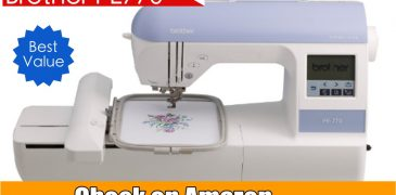 Brother PE770 Embroidery Machine Review 2017