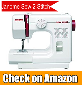 Janome Mini 2 Stitches Sewing Machine