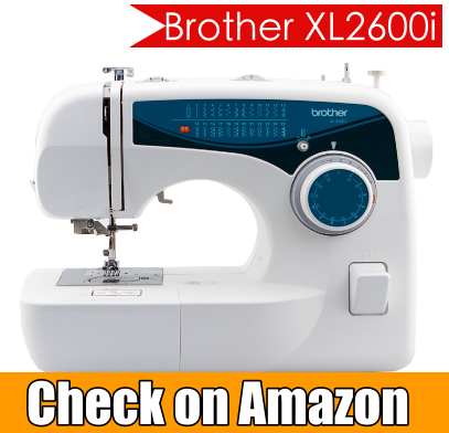 Brother xl2600i sewing machine review 2017 best sewing for Machine a coudre xl 2600 brother